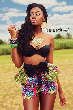 Tribal Fresh!    Neef Fresh Photography (c) Makeup & Wardrobe styling also by Neef Fresh    Brooklyn,NY     Model: Shavonne