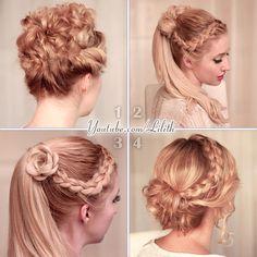 Lilith Moon: Prom/wedding hairstyles for medium/long hair
