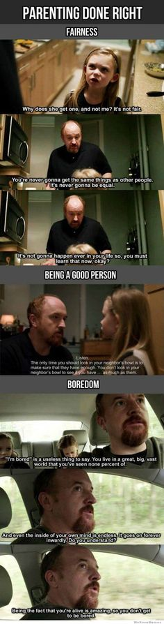 Parenting Done Right With Louis CK