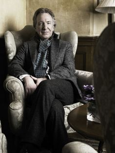 """radagastscousin: """" karthaeuser65: """"Alan Rickman photographed by Alexi Lubomirski (2006) """" This is one of my favorite pictures. """""""