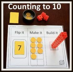 Kindergarten MATH Games: Counting to 10 Kindergarten MATH Games: Counting to 10 <br> Kindergarten Math Activities, Math Games For Kids, Number Games For Kindergarten, Math Games For Preschoolers, Envision Math Kindergarten, Ten Frame Activities, Number Recognition Activities, Preschool Games, Math Classroom