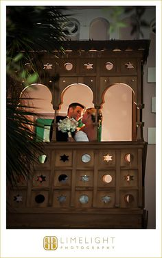 The bride and groom, balcony photo, wedding ideas, Limelight Photography, Renaissance Vinoy, www.stepintothelimelight.com