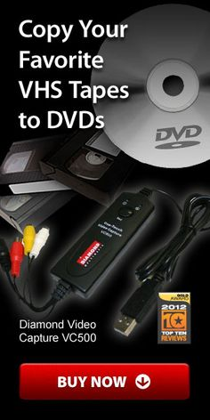 Keep your old memories and videos alive with the best VHS to DVD converters. Computer Help, Vhs Movie, Vhs To Dvd, New Inventions, Video Capture, Photo Memories, Home Movies, Vhs Tapes, Lisa
