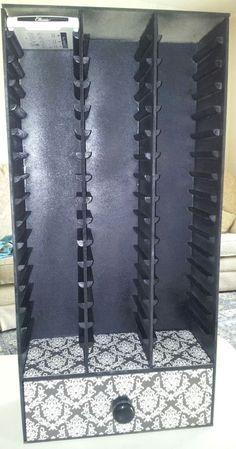 A Little Bit of Heaven...: Wooden Ink Pad Storage