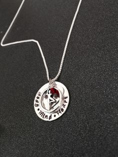 A personal favorite from my Etsy shop https://www.etsy.com/listing/213794370/hand-stamped-yoga-jewelrybody-mind-heart