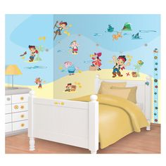 Disney Jake And The Neverland Pirates Room Decor Kit   72 Piece