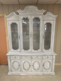 If You Have A Texas Sized House And Need A Large Display Cabinet Then Here  You · Shabby Chic ...