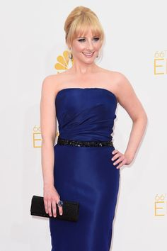Melissa Rauch Photos Photos - Actress Melissa Rauch attends the 66th Annual Primetime Emmy Awards held at Nokia Theatre L.A. Live on August 25, 2014 in Los Angeles, California. - Arrivals at the 66th Annual Primetime Emmy Awards — Part 2