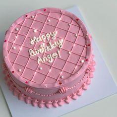 Pretty Birthday Cakes, Pretty Cakes, Mini Cakes, Cupcake Cakes, Bolo Tumblr, Pastel Cakes, Pinterest Cake, Cute Baking, Easy Cake Decorating