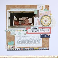Paper Issues Product Spotlight: Crate Paper Wonder layout by Jen Boumis
