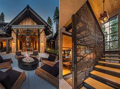 Architects: The Sandbox Studio. Mountain Modern, Mountain Homes, Mountain View, Sandbox, Maine House, Lodges, Architects, Decor Ideas, Cabin