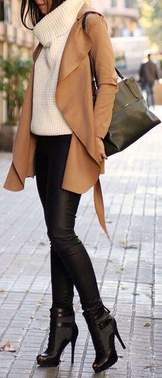 Love! Boot, pants, jacket!