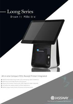 Helios POS Registrierkassen PC inkl. Thermobondrucker Quad, All In One, Bring It On, Software, Audio, Modular Design, Energy Efficiency, Pos, Printer