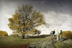 Erik Johansson — Helping Fall