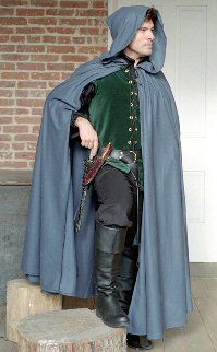 Silk Cloak: Renaissance Costumes, Medieval Clothing, Madrigal Costume: The Tudor Shoppe