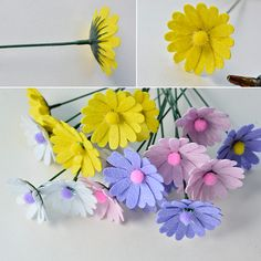 Felt Craft Kits for Adults – How to Make Colorful Felt Flower Pot for House Decoration  (8)