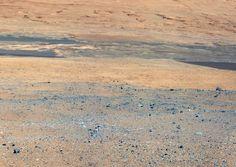 En Marte nieva hielo seco ?
