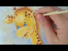 Como pintar girafa . vídeo 3 - YouTube