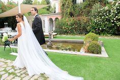 O vestido de noiva adaptado da Filipa. #casamento #vestidodenoiva #noivos #Portugal #quinta