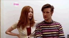 Especially with Karen. | 31 Times Matt Smith Was The Most Perfect Human Being Ever