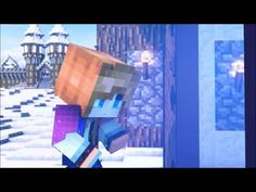 Bluemonkey Minecraft Animation: Do you wanna build a Snowman 10 mins