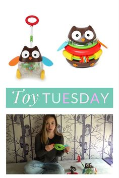 Toy Tuesday on The Shopping Mama featuring Skip Hop owl toys. Watch the video to see if your toddler will love these for the holidays!