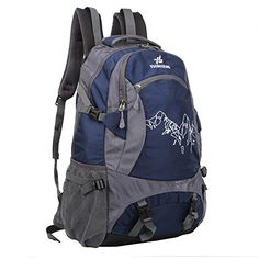 4550L Travel Backpack Daypack Camping Rucksack Water Repellent Backpacker for Outdoor Climbing Backpack Mountaineering Backpack Cycling Trekking >>> Click image for more details. Amazon Affiliate Program's Ads.