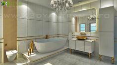3D Modern Bath Room Interior Design Studio Istanbul  #architectural -  #corporate -  #kid room,  animation