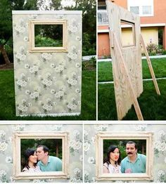 Crafty! Much cheaper than renting a real  photobooth