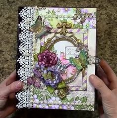 Designs by Shellie: Designs by Shellie: PART 1 TUTORIAL HEARTFELT CREATIONS BUTTERFLY MEDL...