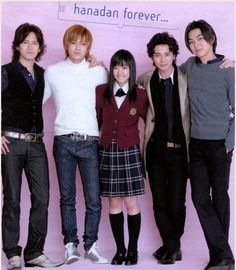 Hana Yori Dango - I LOVED this version. This was the Japanese version and it was my favorite.  I want to own this SO bad!  I LOVED Tsukasa, he was hilarious!!
