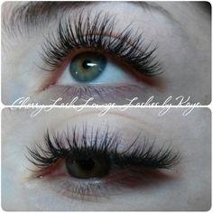 Eyelash extensions.