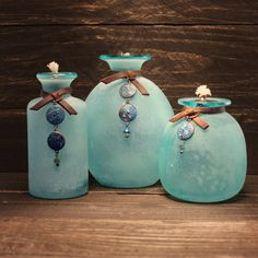 Hey, I found this really awesome Etsy listing at https://www.etsy.com/listing/265286472/beach-dreams-trio-tiki-torches-oil-lamp