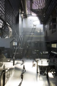 Japan. Kyoto Station. It looks like a nice matte painting...