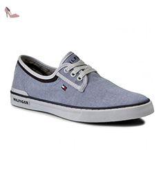 Tommy Hilfiger , Baskets pour homme - bleu - bleu, 45 EU - Chaussures tommy hilfiger (*Partner-Link)