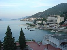 View from our hotel Sunce in Neum Bosnia - Herzegovina.