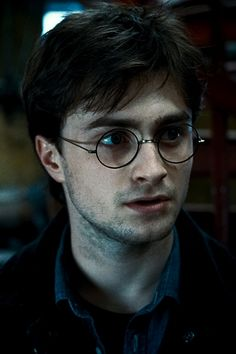 Harry Potter. The guy who made round rimmed glasses sexy.