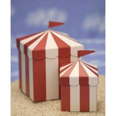 craft activity? collection box for offering?  carnival party favor boxes