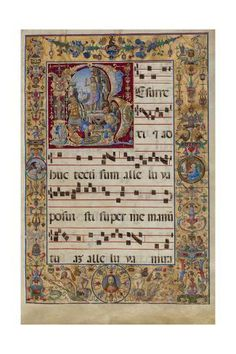 Initial R: The Resurrection. 16 Antonio da Monza, Italian, late or early Tempera colors and gold leaf on parchment. Medieval Manuscript, Medieval Art, Renaissance Art, Medieval Music, Illuminated Letters, Illuminated Manuscript, Classical Antiquity, Getty Museum, Book Of Hours