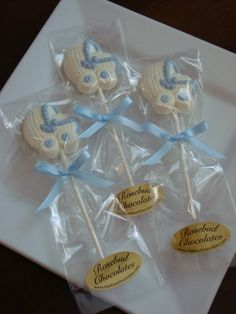 chocolate baby shower favors on pinterest baby shower favors