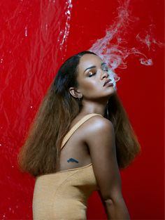 Rihanna in 'Becoming Rihanna' The Fader editorial October 2015 shot by Renata Raksha.