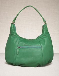 Smart Leather Bag in dark sprout - Bodenusa