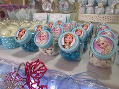 festa tema frozen, decoração feita em casa