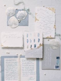 Stunning & elegant muted blue floral wedding inspiration via Magnolia Rouge Wedding Paper, Floral Wedding, Wedding Cards, Blue Wedding, Wedding Colors, Rustic Wedding, Coastal Wedding Inspiration, Wedding Stationery Inspiration, Wedding Invitation Suite