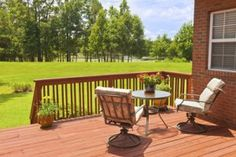 Are you considering #HomeAdditions this spring? A #Deck might be just the thing.