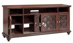 """Beauvais 72"""" Media Console in Walnut 