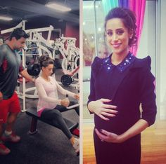 Danielle Jonas shows off her baby bump: do you love her fitness style or glam outfit more?
