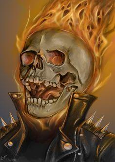 Ghost Rider by De-Prime