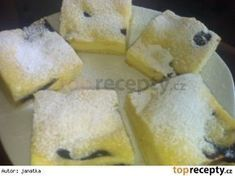 This mysterious Czech dessert looks delicious. I wish I could understand the recipe! Czech Desserts, Sweet Desserts, Sweet Recipes, Slovak Recipes, Czech Recipes, Kolaci I Torte, Sweet Cakes, Aesthetic Food, Desert Recipes