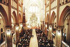 The interior of the St. Stanisław Kostka Cathedral Church in Łódź (Poland),   where Jesus called St. Faustina to the religious life.